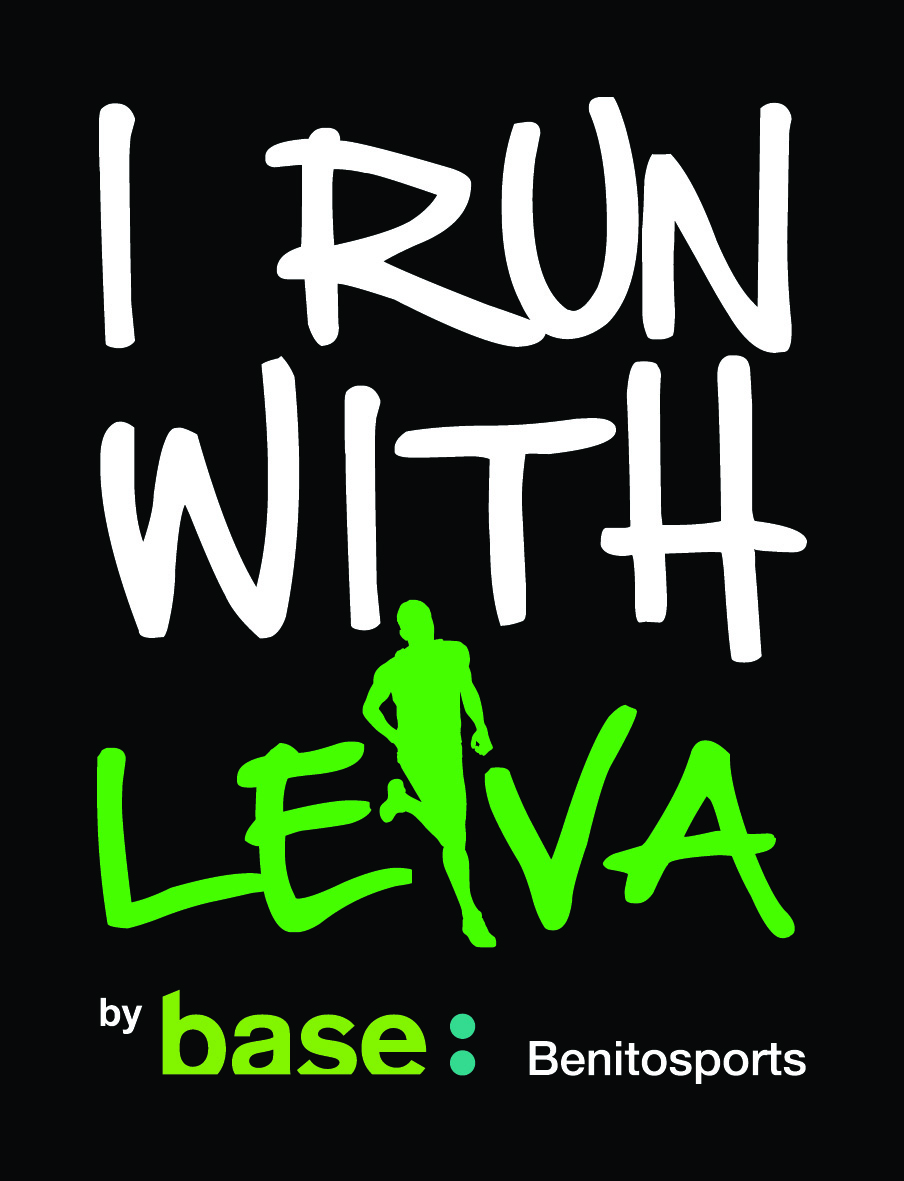 Logo I Run With Leiva Blanco